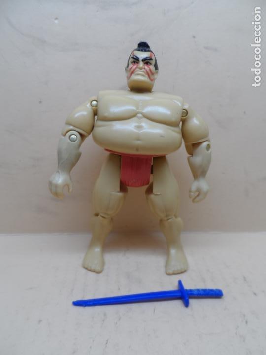 GIJOE E-HONDA V1 (EDMOND HONDA) (STREET FIGHTER) 1993 HASBRO (Juguetes - Figuras de Acción - GI Joe)