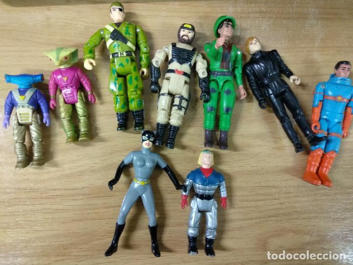Figuras y Muñecos Gi Joe: Lote Gi joe y otras figuras, algunos accesorios - Ice viper - Gijoe - Luke Skywalker - Catwoman - Foto 4 - 194675790