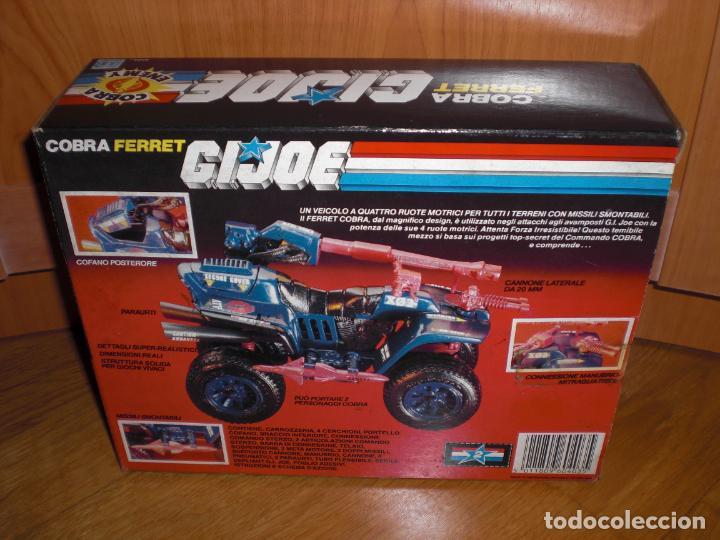 Figuras y Muñecos Gi Joe: Nuevo a estrenar, vehículo Gi Joe Cobra Ferret, versión italiana 1987 - Cupra Gijoe - Foto 2 - 194757546