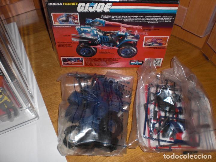 Figuras y Muñecos Gi Joe: Nuevo a estrenar, vehículo Gi Joe Cobra Ferret, versión italiana 1987 - Cupra Gijoe - Foto 4 - 194757546