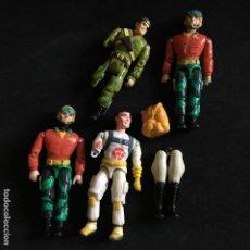 Figuras y Muñecos Gi Joe: LOTE FIGURAS MUÑECOS LANARD 1990 THE CORPS TIPO GI JOE GIJOE. Lote 195105970