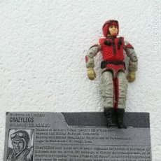 Figuras y Muñecos Gi Joe: CRAZYLEGS (V1) ASSAULT TROOPER. Lote 195231825