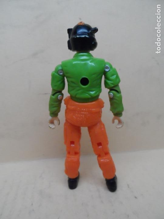 Figuras y Muñecos Gi Joe: GIJOE WINDMILL V1 (PILOTO SKYSTORM) 1988 HASBRO - Foto 2 - 195310228