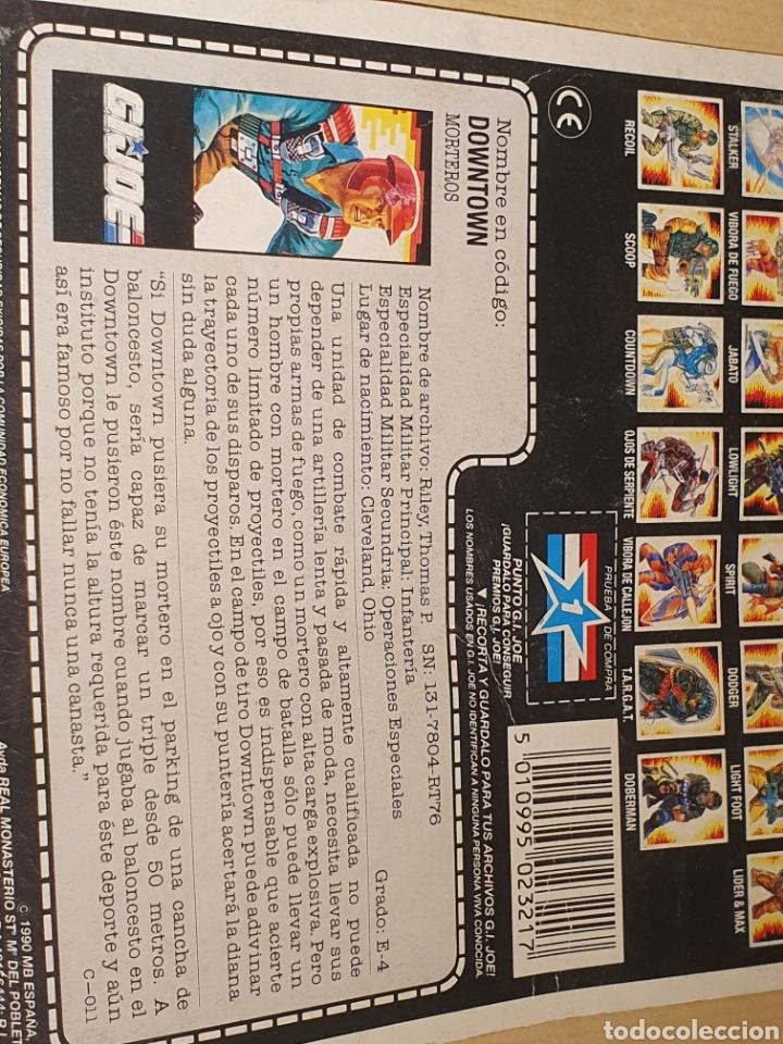 Figuras y Muñecos Gi Joe: Cardback gijoe Downtown - Foto 3 - 199685777