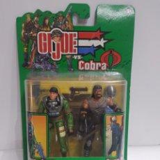 Figuras y Muñecos Gi Joe: LOTE 2 FIGURA GI JOE COBRA NUEVOS (HASBRO). Lote 201099940
