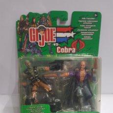 Figuras y Muñecos Gi Joe: LOTE 2 FIGURAS GI JOE COBRA (HASBRO). Lote 201100096