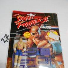 Figuras y Muñecos Gi Joe: ANTIGUO BLISTTER STREET FIGHTER II – GI JOE – ZAGAT – NUEVO SIN USAR. Lote 204095615