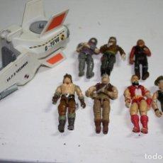 Figuras y Muñecos Gi Joe: LOTE GI JOE LANARD NAVE AÑOS 90 HASBRO MATTEL. Lote 205325003
