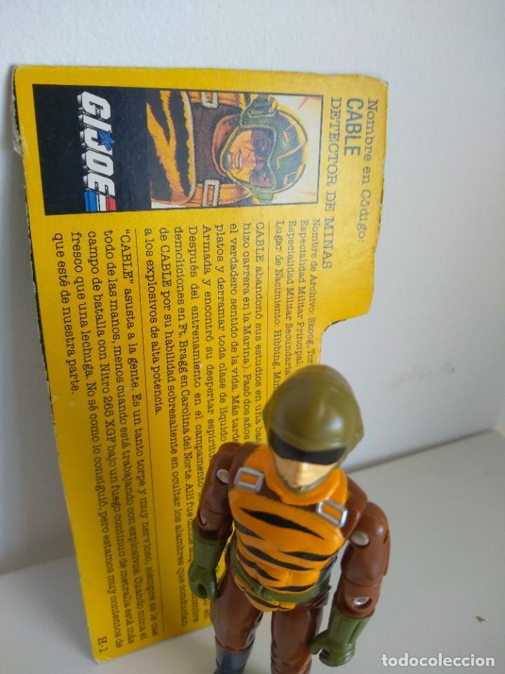 Figuras y Muñecos Gi Joe: GI JOE TRIPWIRE (v3) 1990 TIGER FORCE HASBRO G.I.JOE - GIJOE - COBRA - Foto 5 - 205653383