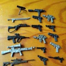 Figuras y Muñecos Gi Joe: 20 ARMAS ORIGINALES PARA GIJOE DE HASBRO - GI JOE. Lote 205708532