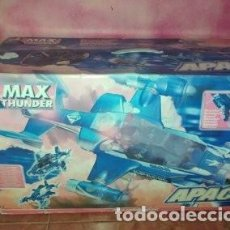 Figuras y Muñecos Gi Joe: APACHE HELICOPTERO DE MAX THUNDER (ACTION FIGURE, SPANISH G.I.JOE). 2000. ELECTRÓNICO. Lote 205770581