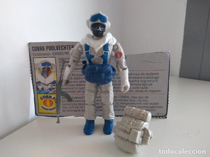 G.I.JOE - GIJOE - SNOW SERPENT (V1) - 1985 COBRA POLAR ASSAULT (Juguetes - Figuras de Acción - GI Joe)