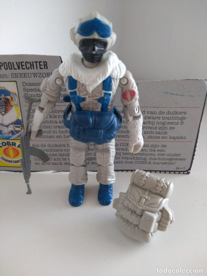 Figuras y Muñecos Gi Joe: G.I.JOE - GIJOE - SNOW SERPENT (v1) - 1985 COBRA POLAR ASSAULT - Foto 2 - 206149417