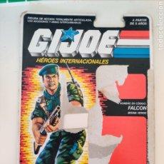 Figuras e Bonecos GI Joe: FICHA CARTON ORIGINAL FALCON GI JOE AÑOS 80. Lote 206351990