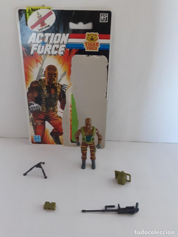 GI JOE TIGER ACTION FORCE ROADBLOCK FIGURA FILECARD E 1988 - 89 VENDIMIA (10.005) (Juguetes - Figuras de Acción - GI Joe)