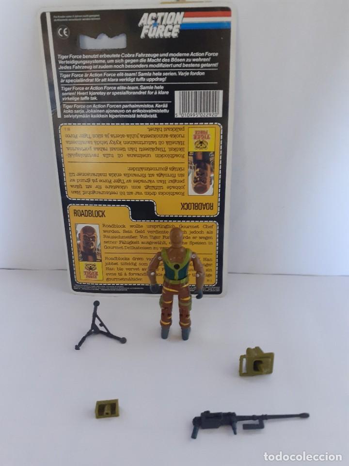 Figuras y Muñecos Gi Joe: Gi Joe Tiger Action Force Roadblock Figura Filecard E 1988 - 89 Vendimia (10.005) - Foto 2 - 206756976
