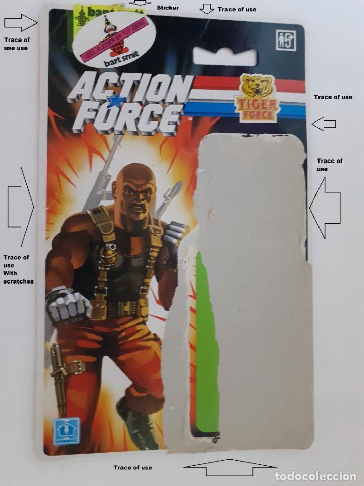 Figuras y Muñecos Gi Joe: Gi Joe Tiger Action Force Roadblock Figura Filecard E 1988 - 89 Vendimia (10.005) - Foto 11 - 206756976