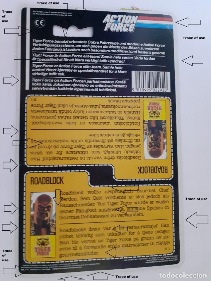 Figuras y Muñecos Gi Joe: Gi Joe Tiger Action Force Roadblock Figura Filecard E 1988 - 89 Vendimia (10.005) - Foto 12 - 206756976