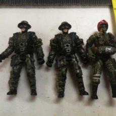 Figuras y Muñecos Gi Joe: LOTE 3 FIGURAS ACTION SOLDIER CHAP MEI SOLDADO MILITAR ESCALA GI JOE. Lote 209847690