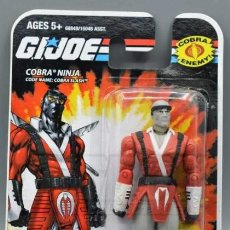 Figuras y Muñecos Gi Joe: COBRA SLASH (V1) NINJA GI JOE HASBRO G.I.JOE 68849/15046 ASST. MOC BLISTER COBRA ENEMY G.I. JOE. Lote 209962132