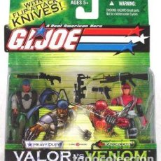 Figuras y Muñecos Gi Joe: HEAVY DUTY V8 - RAZORCLAW V1 GI JOE VALOR VS VENOM HASBRO G.I.JOE MOC BLISTER G.I. JOE. Lote 209964612