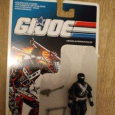 Figuras e Bonecos GI Joe: SNAKE EYES (V3) COMMANDO GI JOE HASBRO G.I.JOE SERIE 8 MOC BLISTER G.I. JOE 1989. Lote 210041412