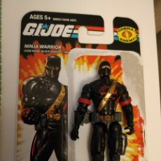 Figuras y Muñecos Gi Joe: BLACK DRAGON NINJA (V2) COBRA NINJA WARRIOR GI JOE HASBRO G.I.JOE SERIE 21 MOC BLISTER G.I. JOE 2005. Lote 210065441