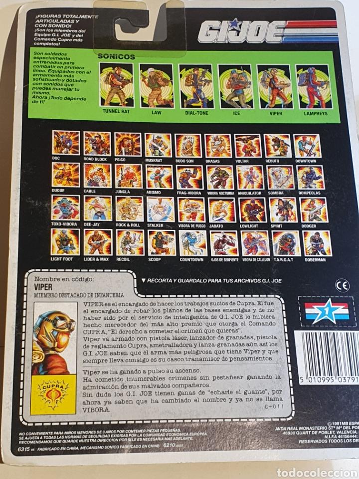 Figuras y Muñecos Gi Joe: Blister gijoe Viper Nuevo - Foto 2 - 210614107