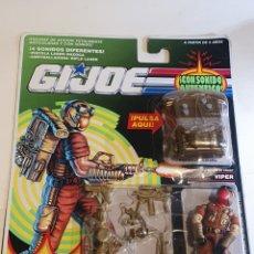 Figuras y Muñecos Gi Joe: BLISTER GIJOE VIPER NUEVO. Lote 210614107