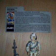 Figuras y Muñecos Gi Joe: GI JOE AVALANCHA SUPERVIVENCIA. Lote 210816780