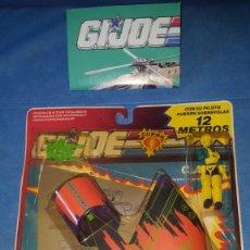 Figuras y Muñecos Gi Joe: GIJOE GI JOE CUERVO 6813 05 CAPS CON ALA DELTA EN BLISTER CUERPOS AEREOS PLANEADORES HASBRO 1991. Lote 211835506