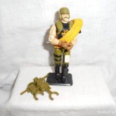Figuras y Muñecos Gi Joe: GIJOE BACKBLAST HASBRO 1989 PEANA NO INCLUIDA. Lote 212927220