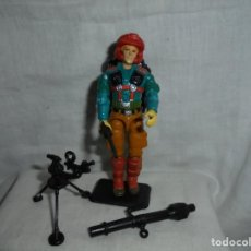 Figuras y Muñecos Gi Joe: GIJOE DOWNTOWN MORTAR MAN HASBRO 1989 PEANA NO INCLUIDA. Lote 212930345