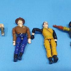 Figuras y Muñecos Gi Joe: LOTE DE 4 FIGURAS GIJOE DE LANARD 1986. Lote 214881213