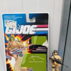 Figuras y Muñecos Gi Joe: FIGURA DE ACCION SERIE GIJOE GI JOE CON BLISTER ESPAÑOL EMBOSCADA VINTAGE AÑOS 90. Lote 215236183