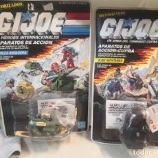 Figuras y Muñecos Gi Joe: 2 BLISTERS COLECCION GIJOE APARATOS DE ACCIÓN CUPRA. GI JOE. Lote 215236963