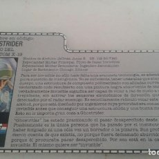Figuras y Muñecos Gi Joe: GI JOE FICHA GHOSTRIDER. Lote 216355916