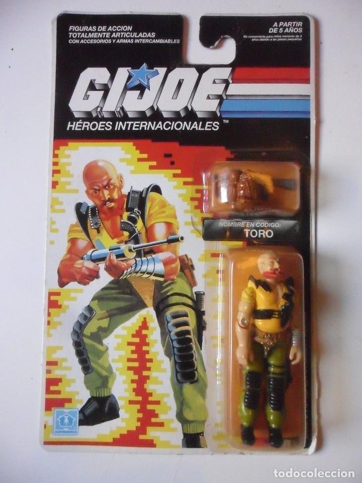 GI JOE TORO TAURUS HASBRO MB ESPAÑA 1989 (Juguetes - Figuras de Acción - GI Joe)