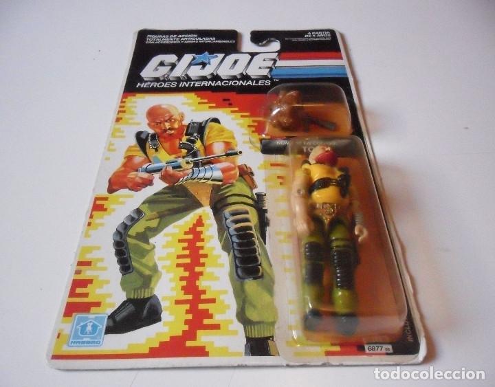 Figuras y Muñecos Gi Joe: GI JOE TORO TAURUS HASBRO MB ESPAÑA 1989 - Foto 2 - 218744850