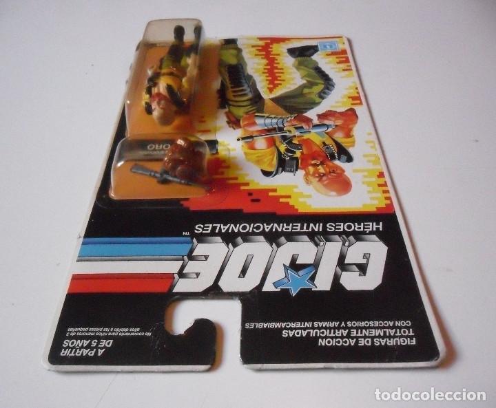 Figuras y Muñecos Gi Joe: GI JOE TORO TAURUS HASBRO MB ESPAÑA 1989 - Foto 3 - 218744850