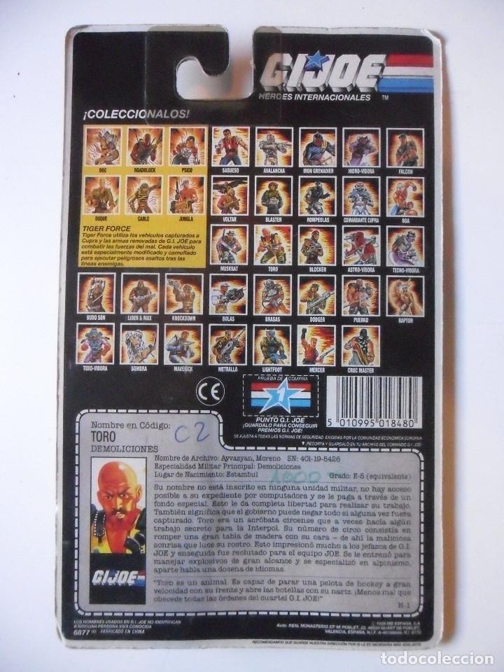 Figuras y Muñecos Gi Joe: GI JOE TORO TAURUS HASBRO MB ESPAÑA 1989 - Foto 6 - 218744850