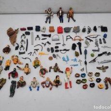 Figuras y Muñecos Gi Joe: G.I. JOE FIGURAS LOTE MUÑECOS ARMAS COMPLEMENTOS UN MONTON DE ACCESORIOS GIJOE. Lote 218795397