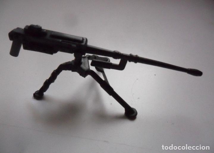 GI JOE ROADBLOCK TIGER FORCE (V3) HEAVY MACHINE GUN & TRIPOD HASBRO 1988 (Juguetes - Figuras de Acción - GI Joe)