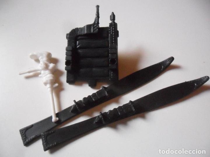 Figuras y Muñecos Gi Joe: GI JOE BLIZZARD (v1) BACKPACK SKI MACHINE GUN HASBRO 1988 - Foto 3 - 219313275