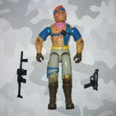 Figuras y Muñecos Gi Joe: FIGURA GIJOE COBRA DREADNOK ZANDAR V1 S5 1986 CON ARMAS. GI JOE G.I.JOE DREADNOKS. Lote 221259628
