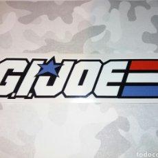 Figuras y Muñecos Gi Joe: PEGATINA GIJOE LOGO TRICOLOR. ADHESIVO DE VINILO PRECORTADO 13 X 3 CM. GIJOE COBRA DREADNOKS. Lote 222076186