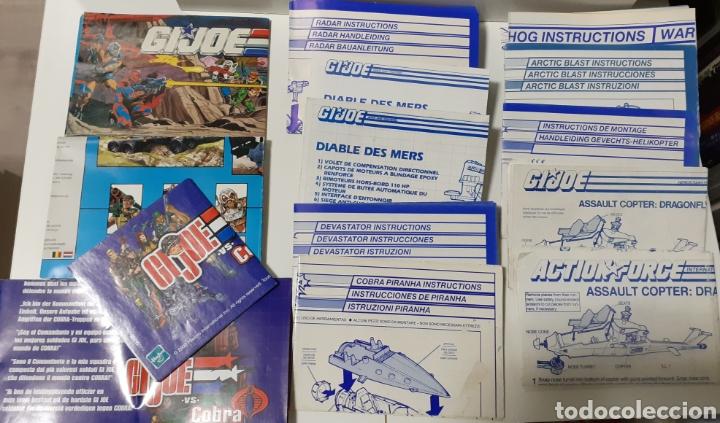 Figuras y Muñecos Gi Joe: Gijoe lote missiles,despiece y catalogos Gi joe Hasbro - Foto 4 - 222158918