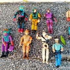 Figuras y Muñecos Gi Joe: LOTE DE 8 GIJOE AÑOS 80 VER FOTOS. Lote 222648822