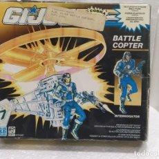 Figuras y Muñecos Gi Joe: GI JOE BATTLE COPTER CON INTERROGATOR DE 1991.. Lote 224386805