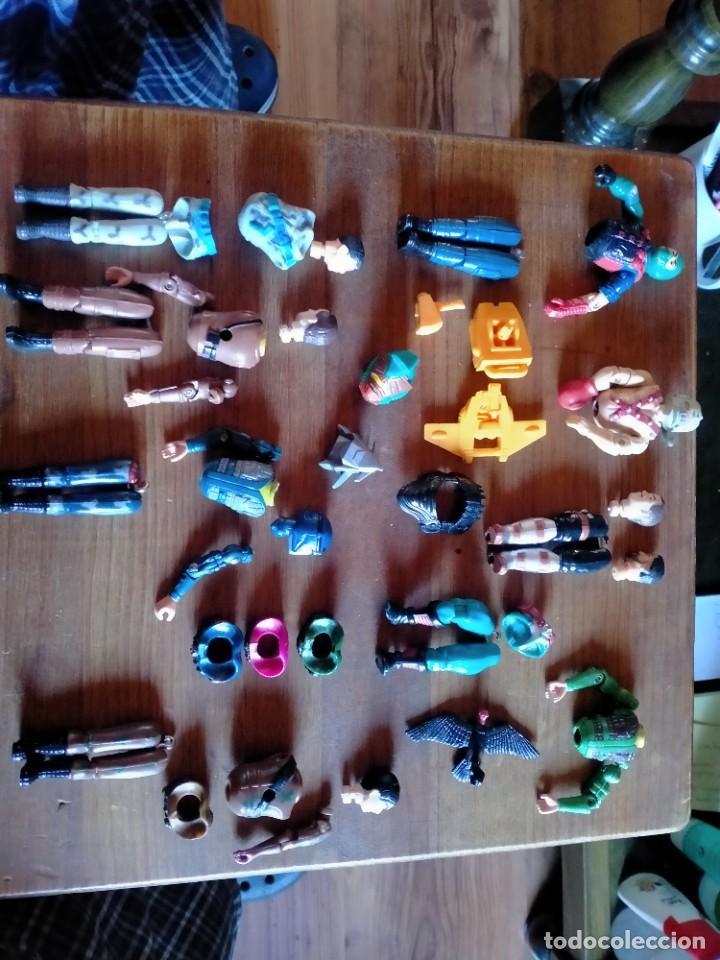 Figuras y Muñecos Gi Joe: LOTE DE PIEZAS GIJOE VER FOTOS GI JOE ESTADO REGULAR - Foto 6 - 226007295